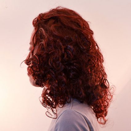 Ruby wig side view