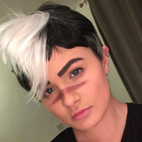 I'll Form The Head - The Five Wits - Shiro cosplay wig