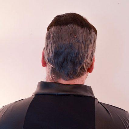 Shiro wig back view