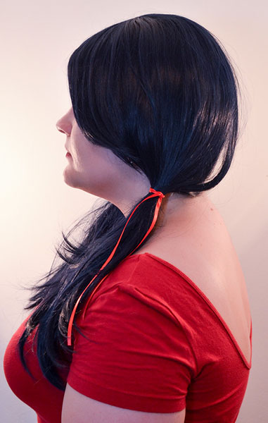 Marinette wig side view