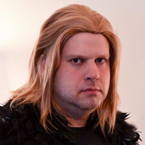 Anders cosplay wig