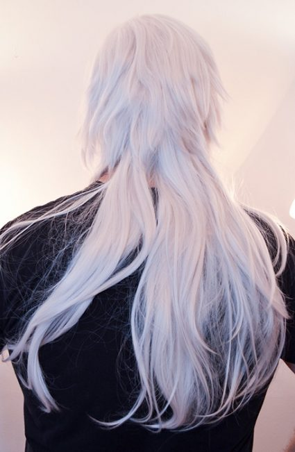 Aoba wig back view