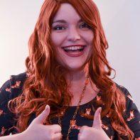Jean Grey cosplay wig
