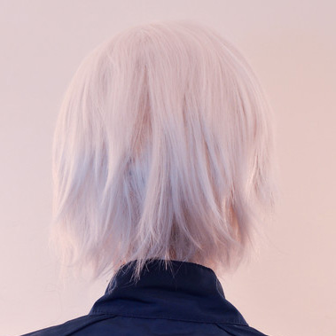 Ludger wig back view