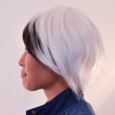 Ludger wig side view