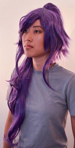 Yoruichi cosplay wig