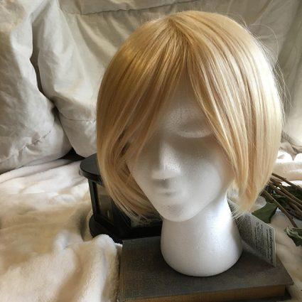 Yurio cosplay wig