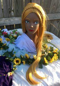 Zelda cosplay wig