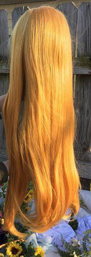 Zelda wig back view