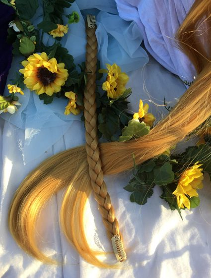 Zelda wig braid