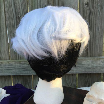 Guzma wig back view