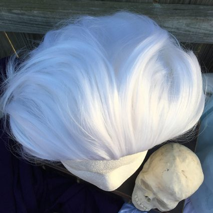 Guzma wig top view