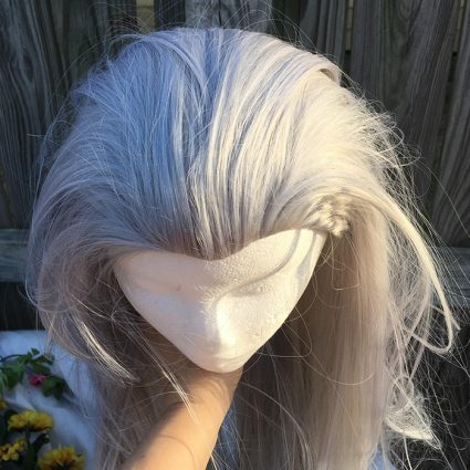 Victor wig top view
