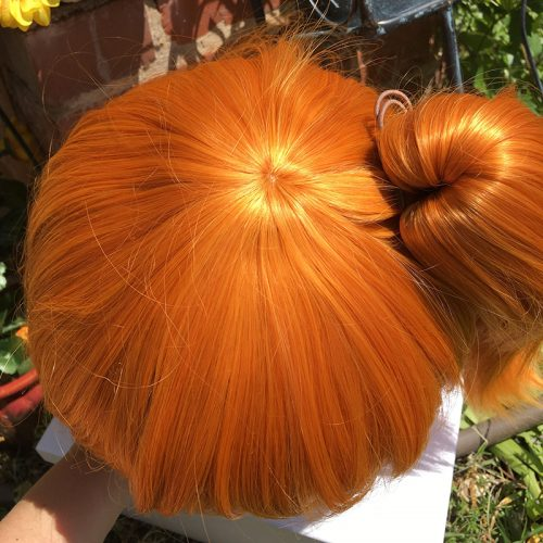 Rin wig top view