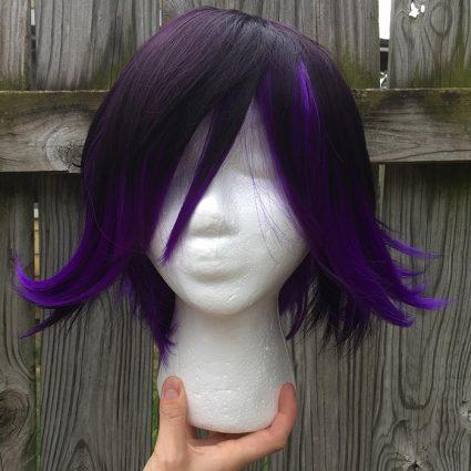 Kokichi cosplay wig