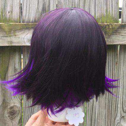 Kokichi cosplay wig back view