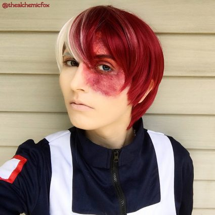 Todoroki cosplay by @thealchemicfox