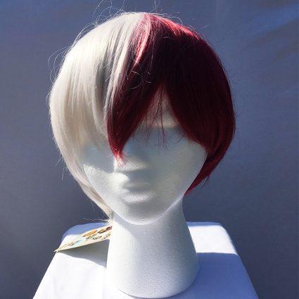 Todoroki cosplay wig