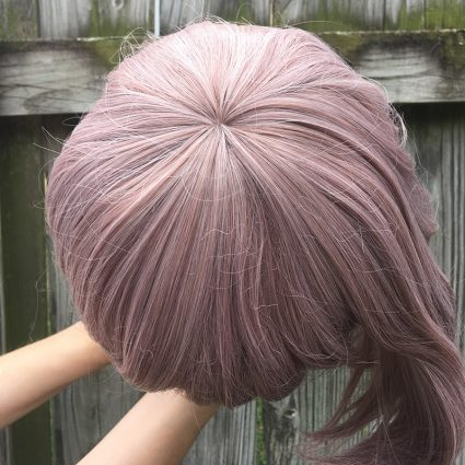 Chiaki cosplay wig top view