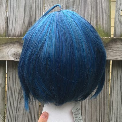 Saihara cosplay wig back view