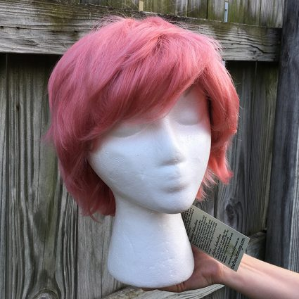 Mina cosplay wig smooth view