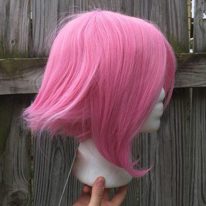 Sakura cosplay wig side view
