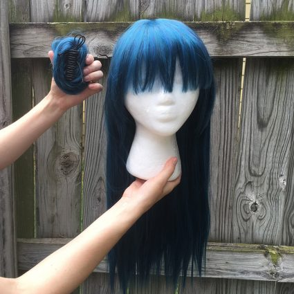 Yoshiko wig clip-on odango