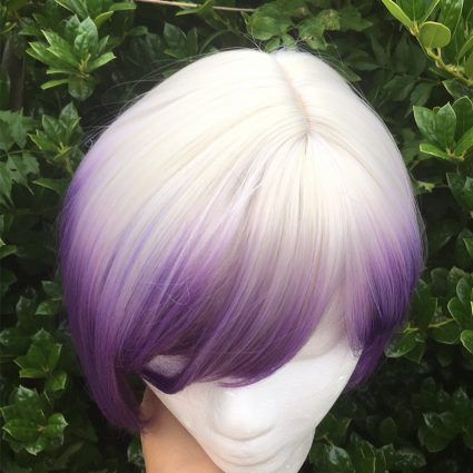 Sabine wig top view