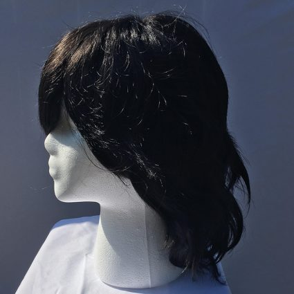 Aizawa cosplay wig side view