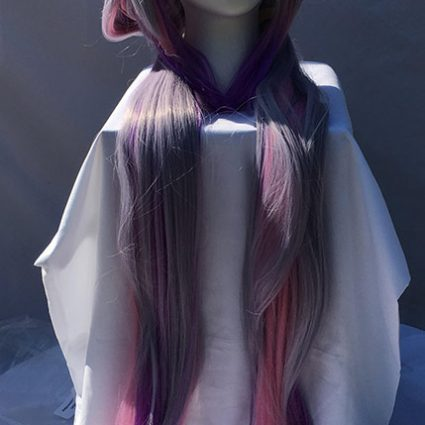Kanna cosplay wig front view