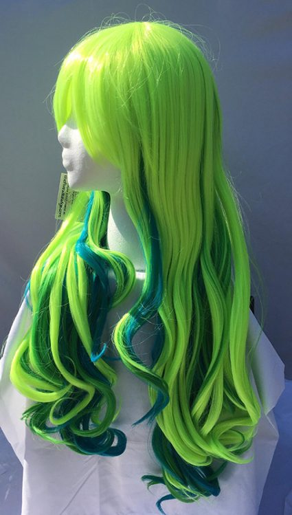 Lucoa cosplay wig side view