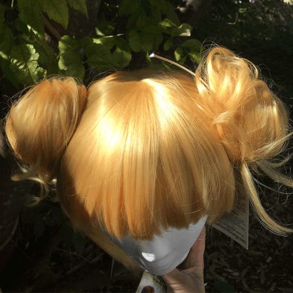 Himiko wig top view