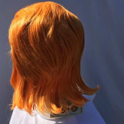 Coran cosplay wig back view