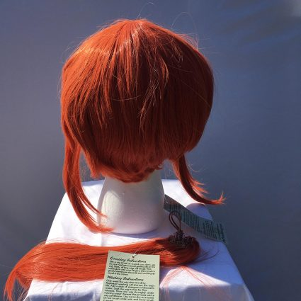 Kobayashi cosplay wig back view without tail