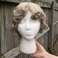 Weeping Angel cosplay wig