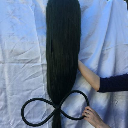 Froppy Wig Back View
