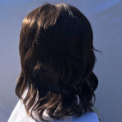 Bucky cosplay wig back view