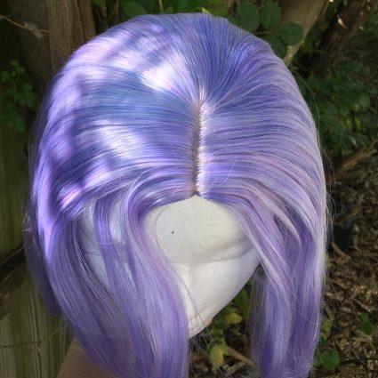 James cosplay wig top view