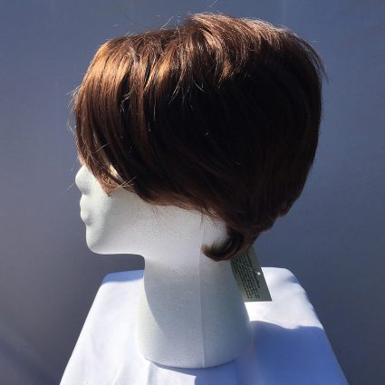 Tracer cosplay wig side view