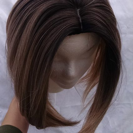13th Doctor cosplay wig top view
