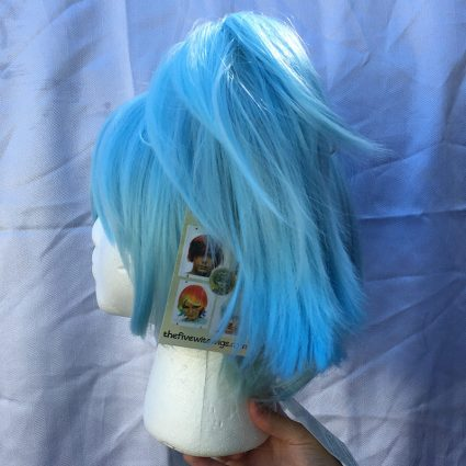 Nagisa cosplay wig side view