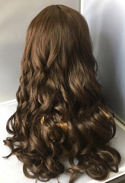 Diana Prince cosplay wig back view