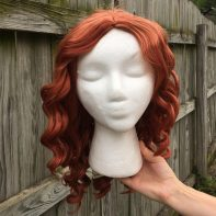 Ms. Frizzle cosplay wig