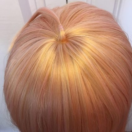 Miu cosplay wig top view