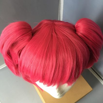 Ruby cosplay wig top view