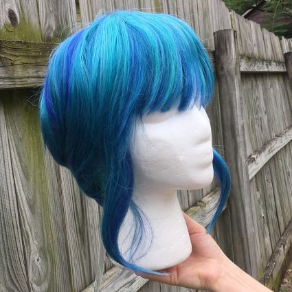 Seahorse Loli cosplay wig base only