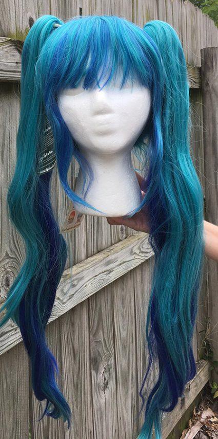 Seahorse Loli cosplay wig