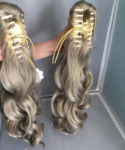 Ann wig ponytails