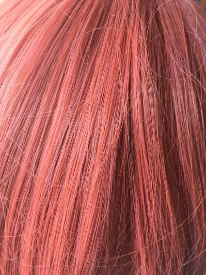 Monika wig closeup