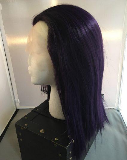 Raven Wig Side